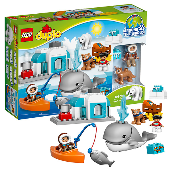 Lego Duplo 10803 Конструктор Вокруг света: Арктика