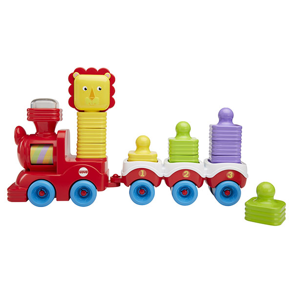 Mattel Fisher-Price DRG33 Фишер Прайс Поезд в джунглях интерактивный поезд перси fisher price