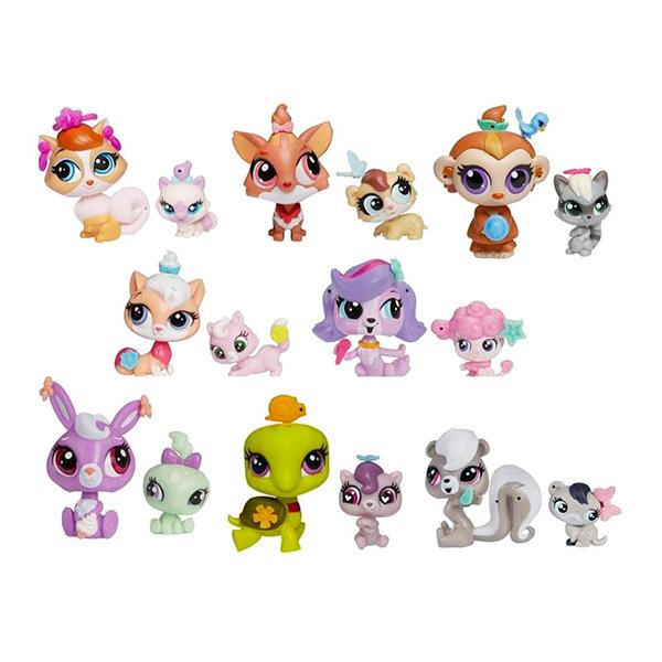 Hasbro Littlest Pet Shop A7313 Литлс Пет Шоп Зверюшка и ее малыш (в ассортименте) игрушка lps зверюшка и ее малыш в ассортименте