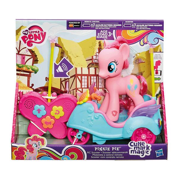 Hasbro My Little Pony B2214 Май Литл Пони Пинки Пай на радиоуправляемом скутере