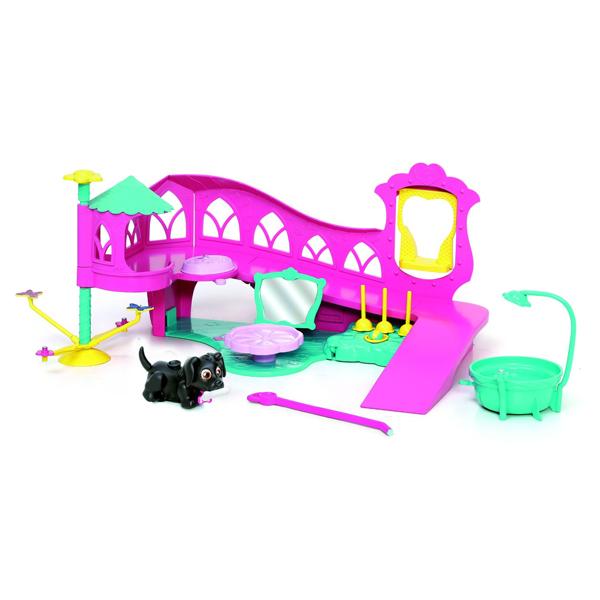 Pet Club Parade 18546 Пет Клаб Парад Игровой набор Выставка животных pet club parade игрушка фигурки собачек колли и мопс