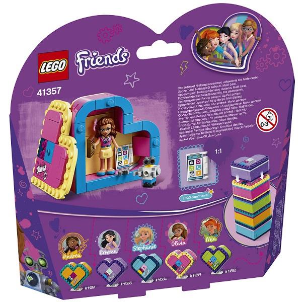 LEGO Friends 41357 Конструктор ЛЕГО Подружки Шкатулка-сердечко Оливии