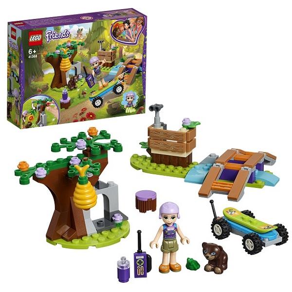 Фото - LEGO Friends 41363 Конструктор ЛЕГО Подружки Приключения Мии в лесу бинокль