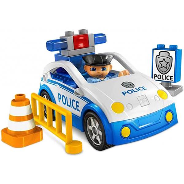 Lego Duplo 4963 Конструктор Полицейский патруль