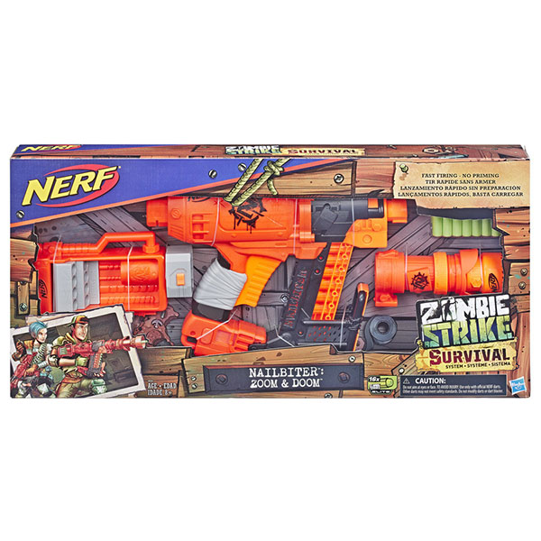 Hasbro Nerf E6163 Игровой набор бластер НЁРФ Ногтегрыз