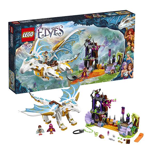 Lego Elves 41179_9 Лего Эльфы Спасение Королевы Драконов