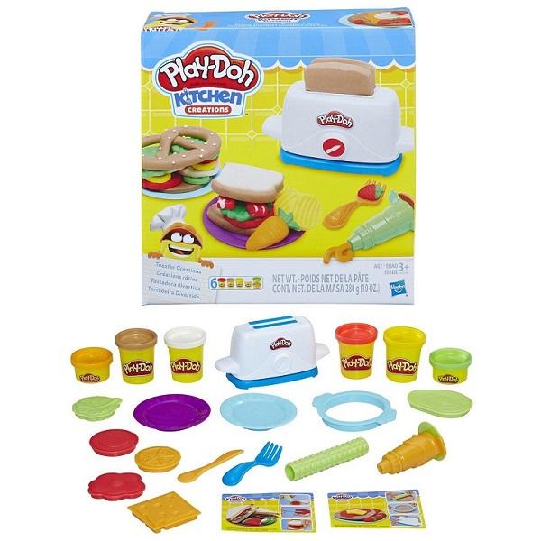 Hasbro Play-Doh E0039 Плей До Тостер hasbro игровой набор play dohтостер