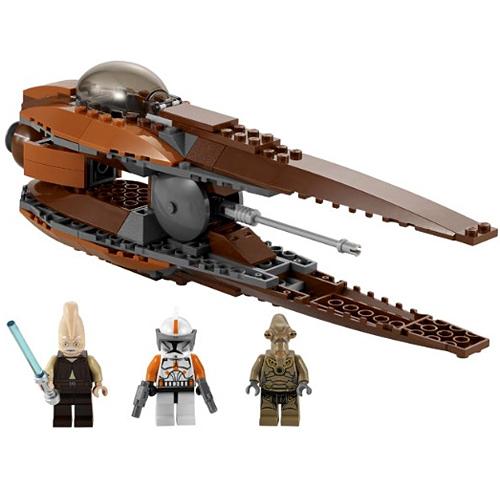 Lego Star Wars 7959 Конструктор Лего Звездные войны Звёздный истребитель Джеонозианцев