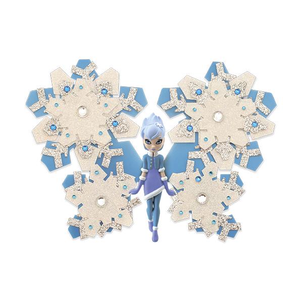 Shimmer Wing SWF0004b Игровой набор Фея Снежинка питер комплект вязаные куклы сказочные феи вязаные куклы лесные феи