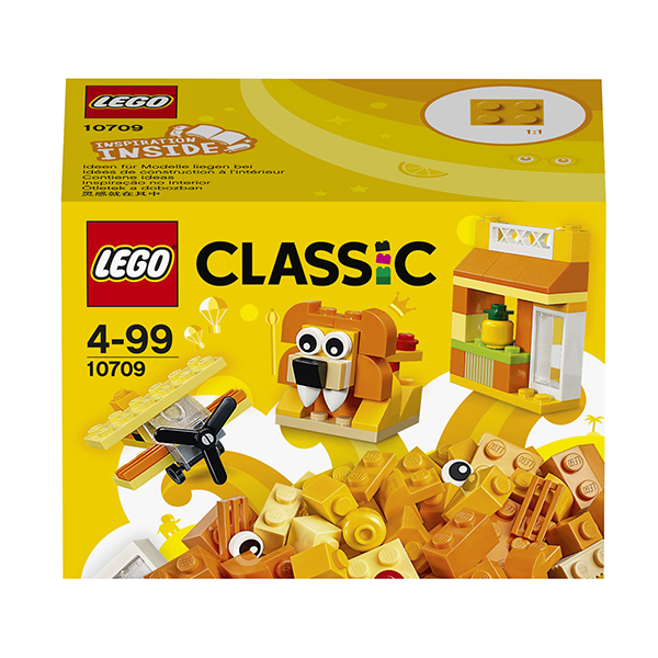 Lego Classic 10709 Лего Классик Оранжевый набор для творчества