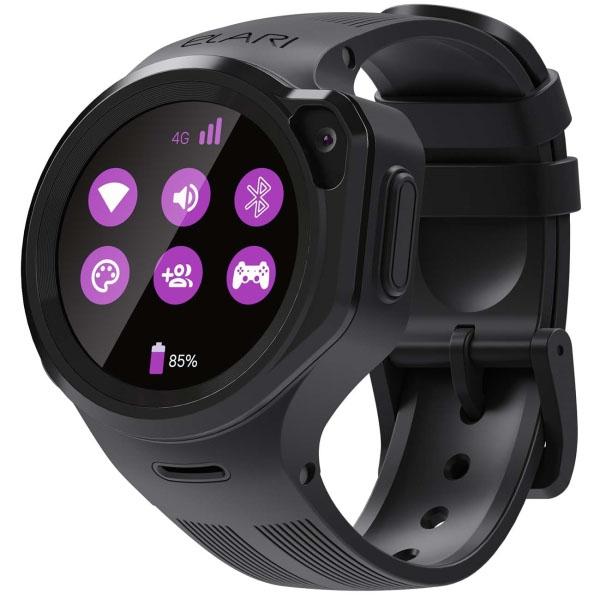 Elari ELKP4-GR/BLK Часы KidPhone 4GR черные недорого