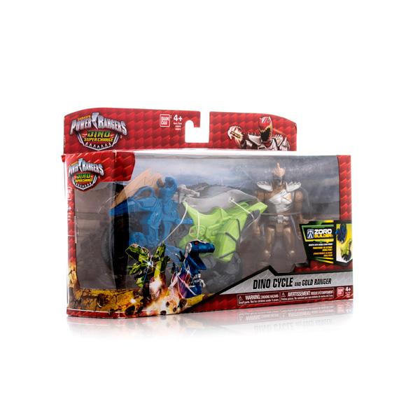 Power Rangers Samurai Dino Charge 43070 Пауэр Рейнджерс Динобайк+Фигурка 12 см (в ассортименте)