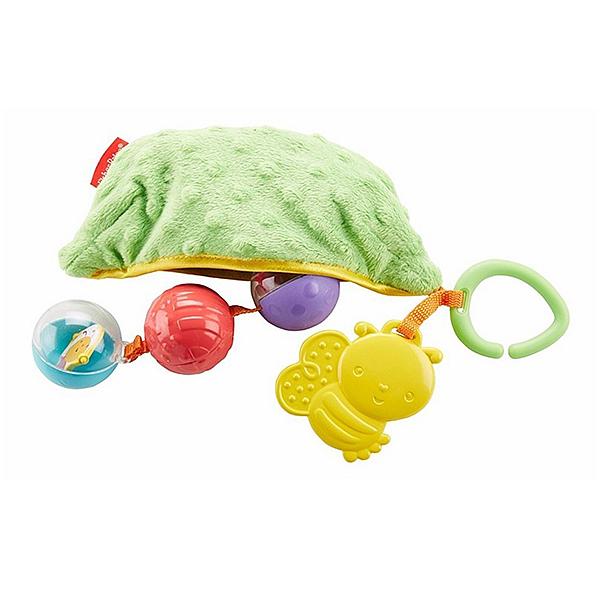 Mattel Fisher-Price DRD79 Фишер Прайс Плюшевая игрушка-погремушка Горошек fisher price с зеркальцем