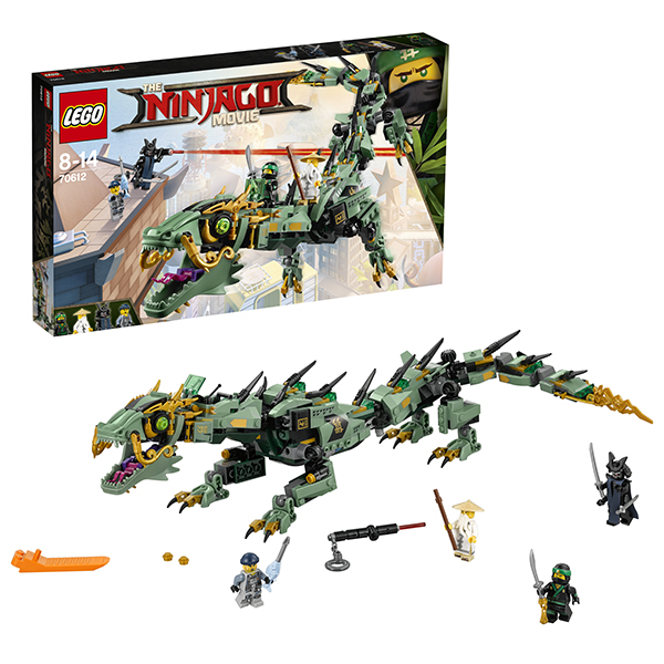 Lego Ninjago 70612 Лего Ниндзяго Механический Дракон Зелёного Ниндзя digital display peak power 3000w rated power 1500w pure sine wave inverter dc12v 24v to ac110v 220v 50hz 60hz for solar system