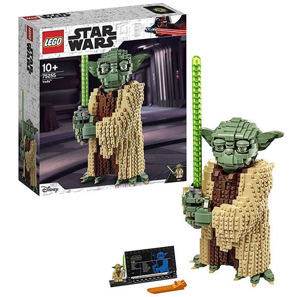 LEGO Star Wars 75255 Конструктор ЛЕГО Звездные войны Йода lego star wars 75250 конструктор лего звездные войны погоня на спидерах