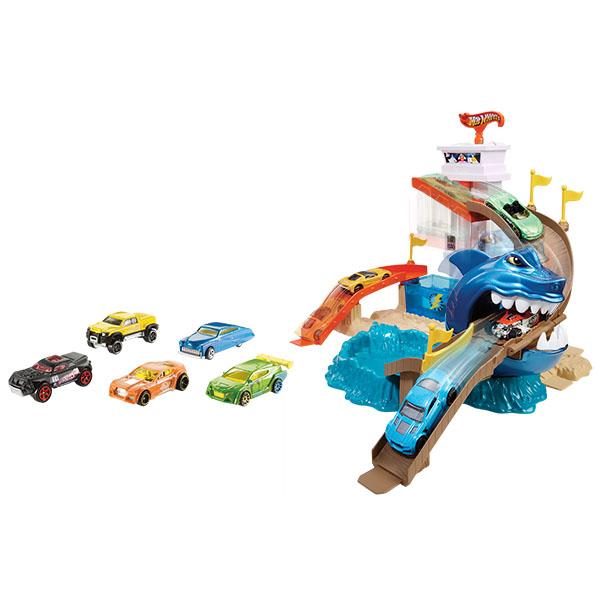 "Mattel Hot Wheels BGK04 Хот Вилс Игровой набор ""Атака акулы"" (""COLOR SHIFTERS"")"
