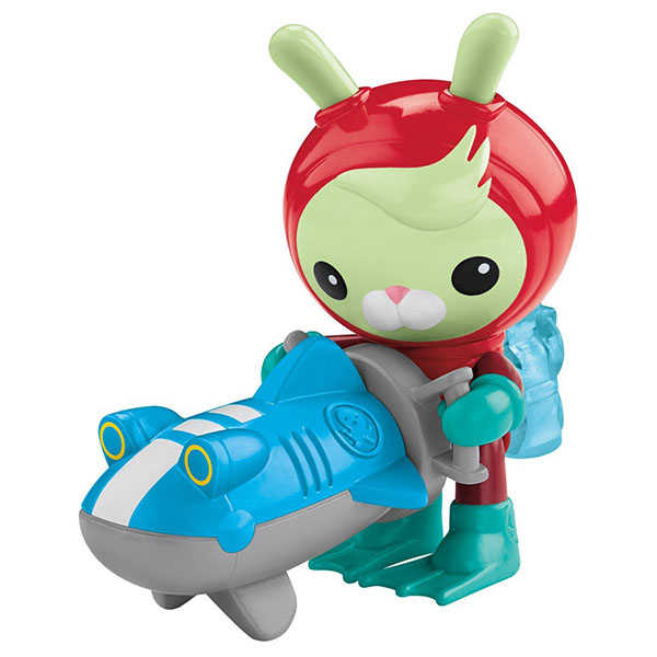Mattel Octonauts CDP12 Октонавты Твики и Морской скутер