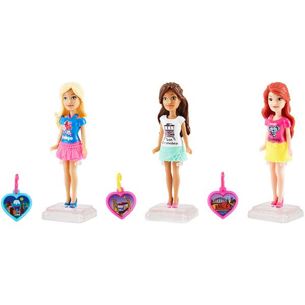 Фото - Mattel Barbie FHF02 Барби Мини-куклы путешественники набор школьниика barbie