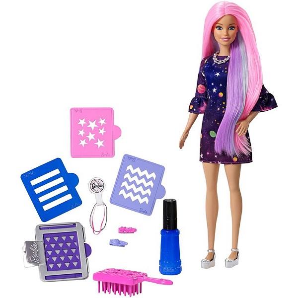 Mattel Barbie FHX00 Барби Цветной сюрприз mattel barbie барби с летающим котом попкорном