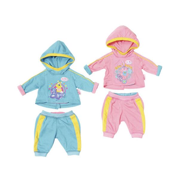 Zapf Creation Baby born 823-774 Бэби Борн Спортивный костюмчик (в ассортименте)