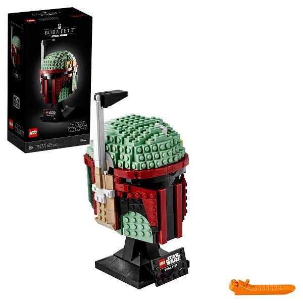 LEGO Star Wars 75277 Конструктор ЛЕГО Звездные Войны Шлем Бобы Фетта