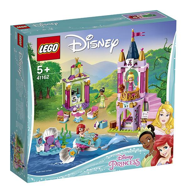 LEGO Disney Princess 41162 Конструктор ЛЕГО Принцессы Королевский праздник Ариэль, Авроры и Тианы
