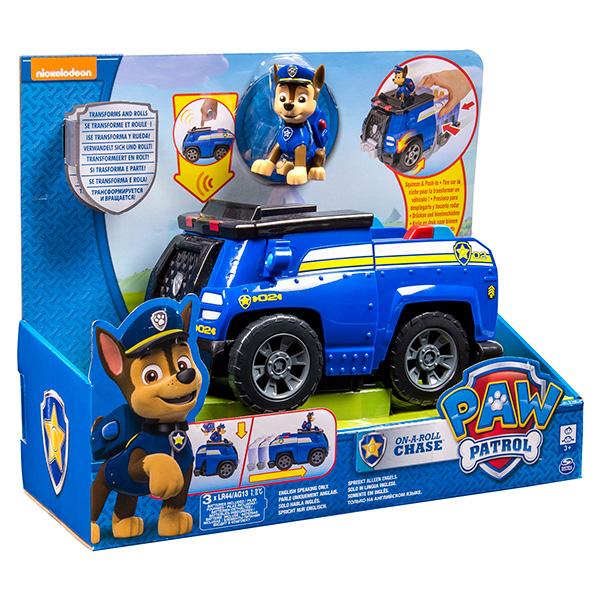 Paw Patrol 16603 Щенячий патруль Большой автомобиль спасателей со звуком (в ассортименте)