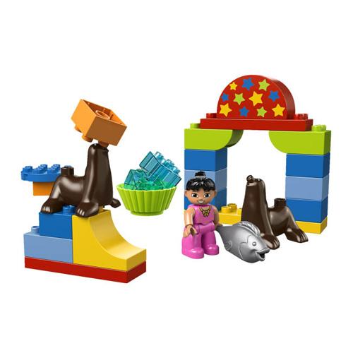 LEGO DUPLO 10503 Конструктор ЛЕГО ДУПЛО Цирковое Представление