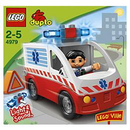 Лего Дупло 4979 Конструктор Машина скорой помощи