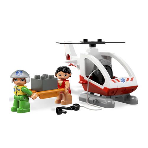 Lego Duplo 5794 Конструктор Вертолет скорой помощи
