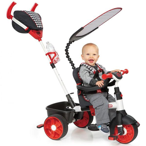Little Tikes 634345 Литл Тайкс Велосипед 4 в 1, красно-белый