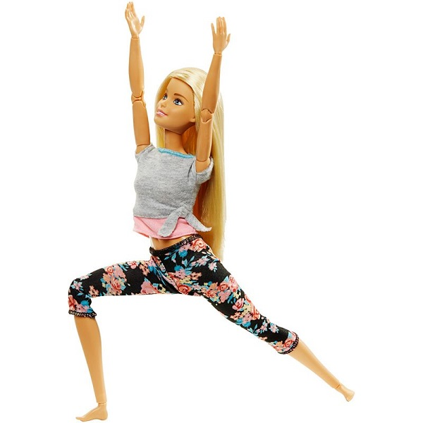 Mattel Barbie FTG81 Барби Безграничные движения Блондинка дудочка барби barbie