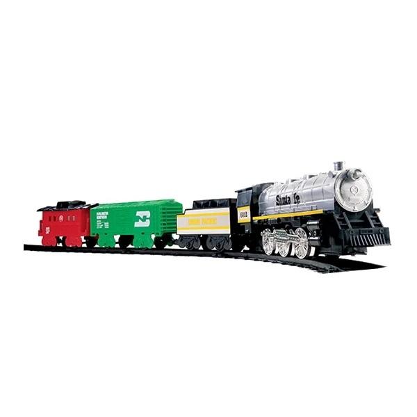 Eztec 60626 Железная дорога SANTA FE SPECIAL TRAIN SET (29 частей) mehano саморазгружающийся бункерный грузовой вагон santa fe