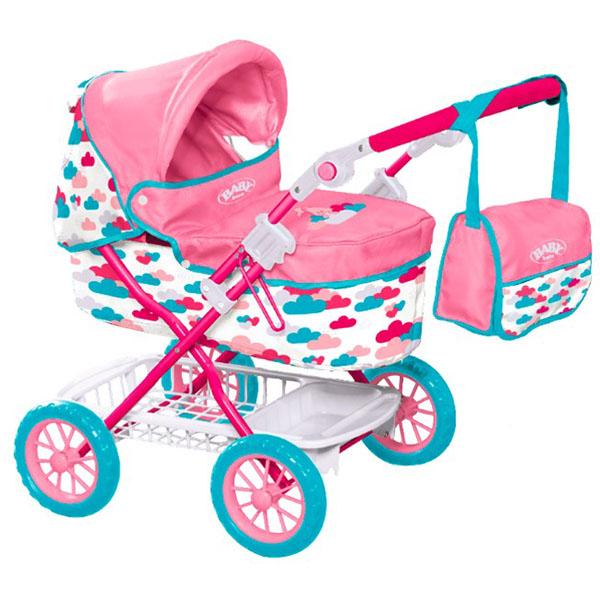 Zapf Creation Baby Born 1423494 Бэби Борн Коляска делюкс с сумкой, 2017