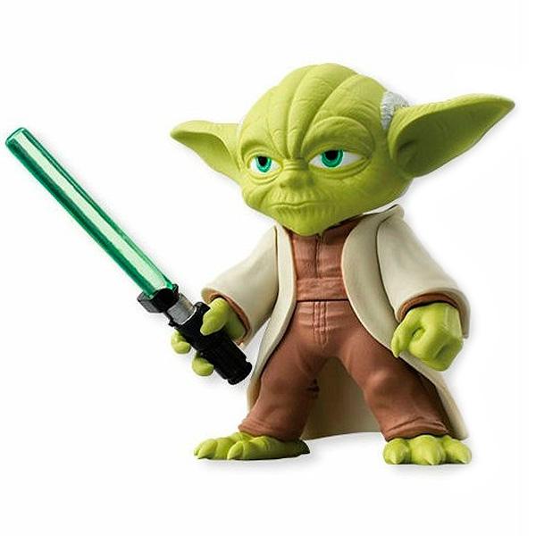 все цены на Star Wars Bandai 84628 Звездные Войны Сборная модель Фигурка Йода 5 см онлайн
