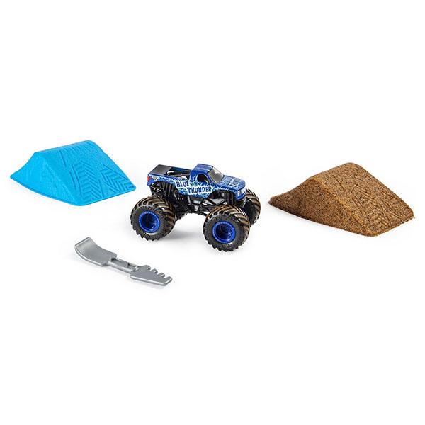 Monster Jam 6053301 Монстр Джем набор машинка и песок 2 недорого