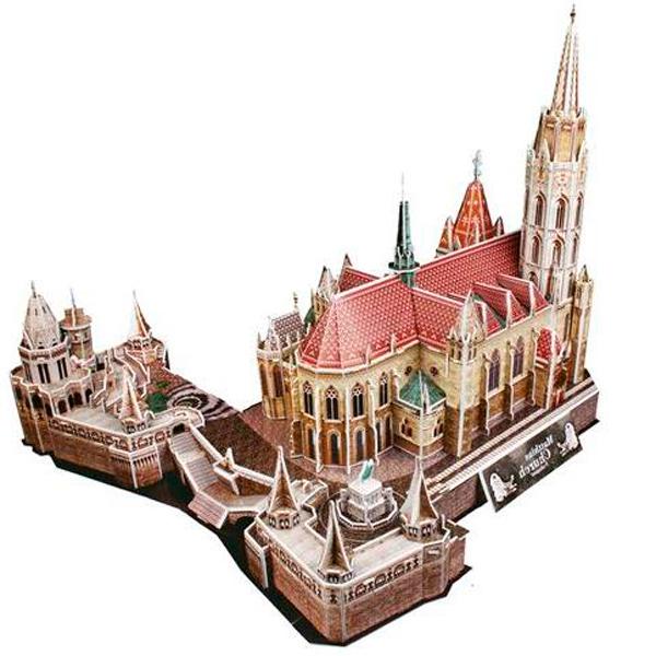 Cubic Fun MC128h Кубик фан Церковь Святого Матьяша (Венгрия)