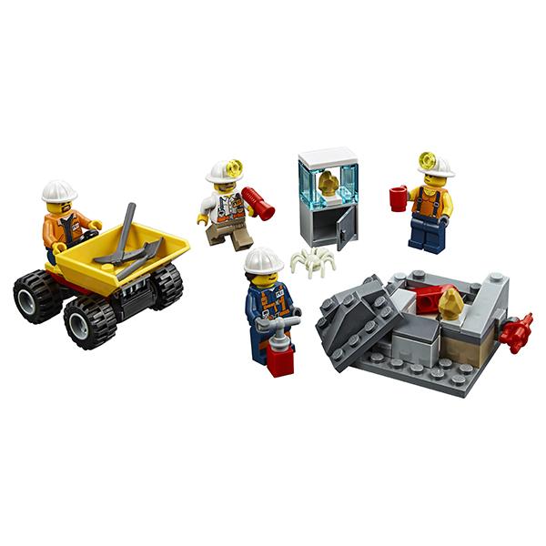LEGO City 60184 Конструктор ЛЕГО Город Бригада шахтеров
