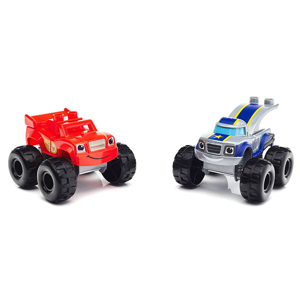 Mattel Blaze DXF25 MB Вспыш: Гонка по крутому спуску