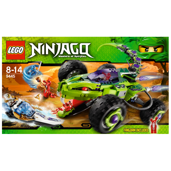Lego Ninjago 9445 Конструктор Лего Ниндзяго Засада Фэнгпайе