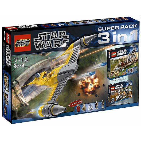 Lego Star Wars 66396 Конструктор Лего Звездные войны Подарочный Суперпэк Звездные войны версия 2