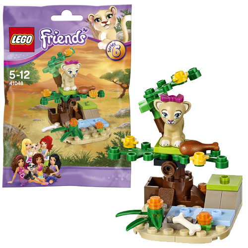 Конструктор Lego Friends 41048 Лего Подружки Саванна львёнка