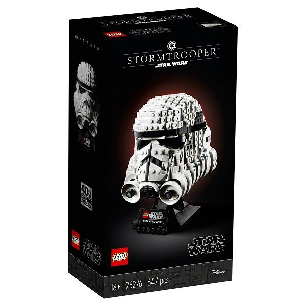 LEGO Star Wars 75276 Конструктор ЛЕГО Звездные Войны Шлем штурмовика