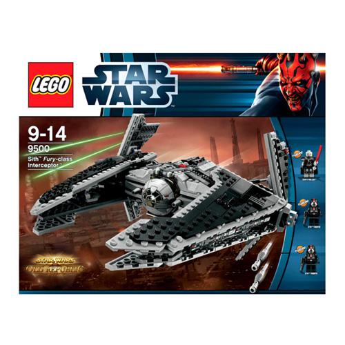 """Lego Star Wars 9500 Конструктор Лего Звездные войны Ситхский перехватчик класса """"Фурия"""""""
