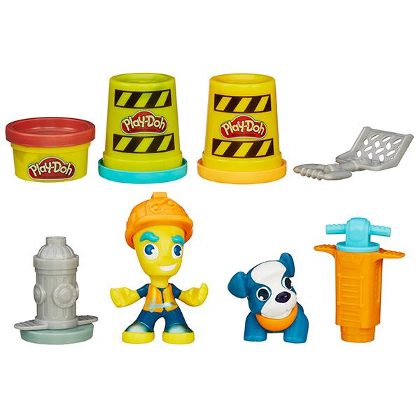 """Hasbro Play-Doh B3411 Город Игровой набор """"Житель и питомец"""" (в ассортименте)"""
