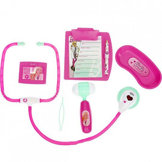 Corpa D123 Игровой набор юного доктора Barbie средний corpa d122a игровой набор юного доктора barbie компактный