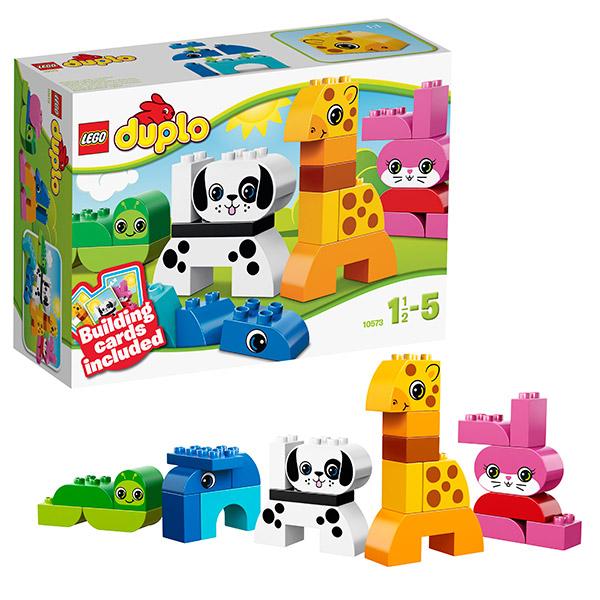 Лего Дупло 10573 Веселые зверушки
