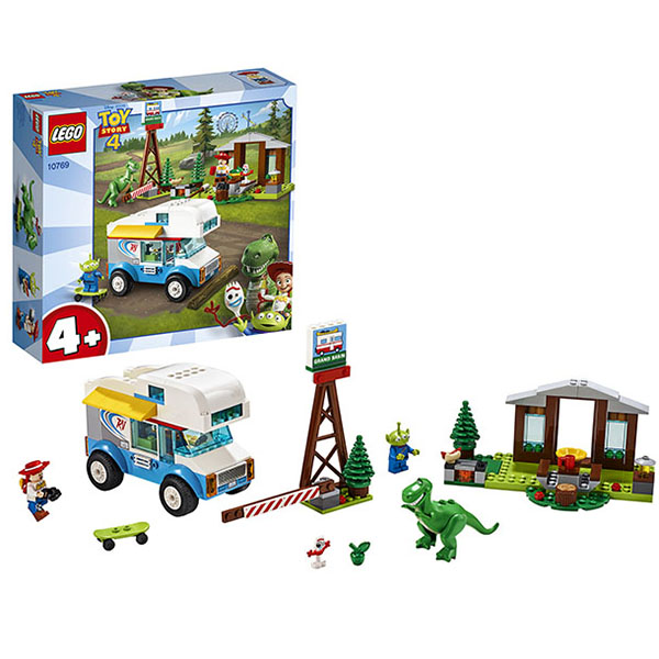 LEGO Juniors 10769 Конструктор ЛЕГО Джуниорс История игрушек-4: Весёлый отпуск