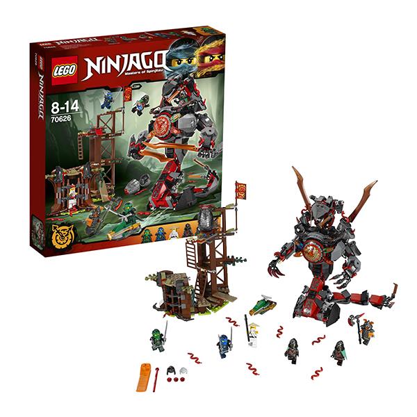 Lego Ninjago 70626 Конструктор Лего Ниндзяго Железные удары судьбы