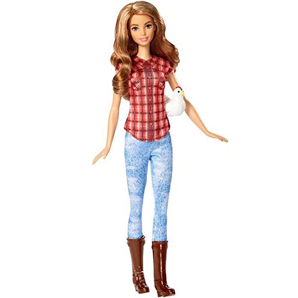 Mattel Barbie DVF53 Барби Кукла из серии Кем быть? barbie набор сестра барби с питомцем barbie dmb26